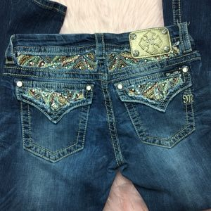 MISS ME Jeans bling